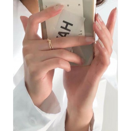 SIMPLICITY STYLE OPEN-END RING