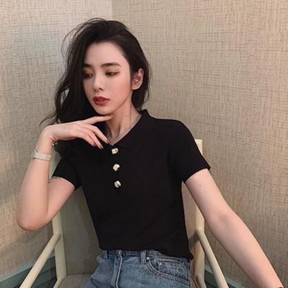 Korea Casual Polo T shirt