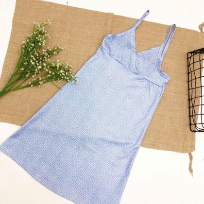 European American Style Floral Sling Dress