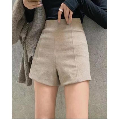 BROWN Korean Style WIDE-LEG SHORTS